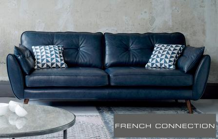 Leather Sofas In A Range Of Styles - Blues | DFS